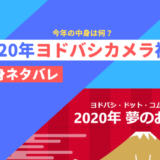 2020年ヨドバシカメラ福袋中身ネタバレ【夢のお年玉箱】